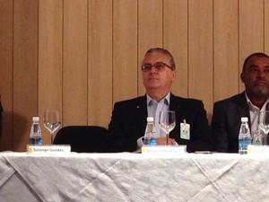 Presidente da Petrobras, Aldemir Bendine (Foto: Mariane Rossi / G1)