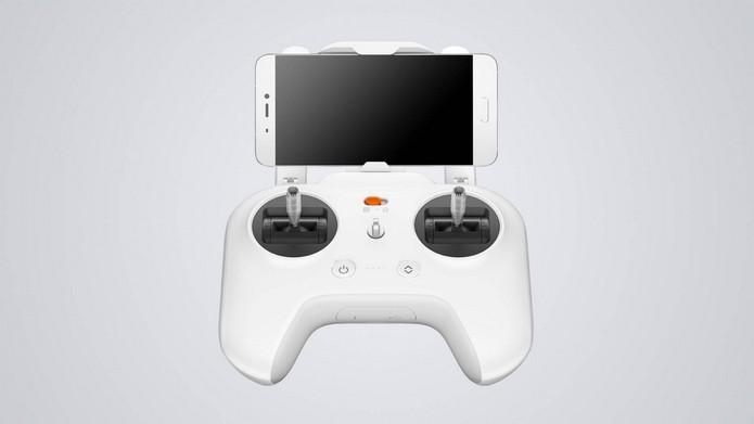 Controle remoto tem potão de pouso e decolagem automático (Foto: Divulgação/Xiaomi)