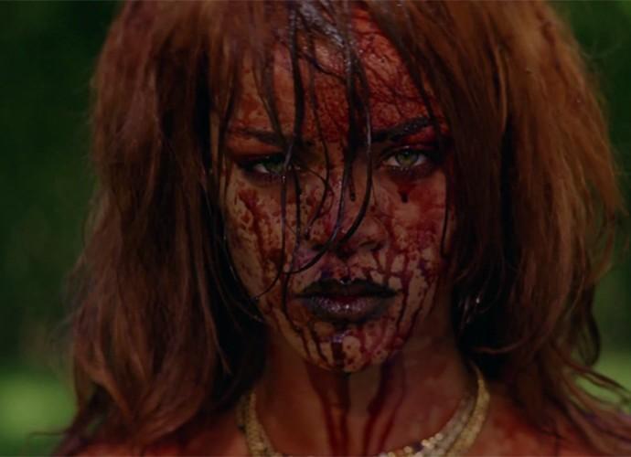 Rihanna lança clipe polêmico para novo single (Foto: Reprodução)