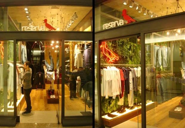 Loja da Reserva no Shopping Iguatemi (Foto: Reprodução/ Facebook)