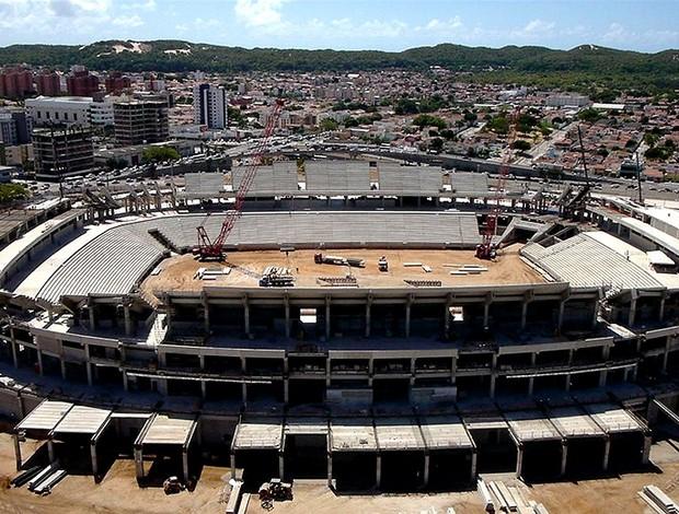 obras estádio Arena Dunas Copa (Foto: Arena / Fifa.com)