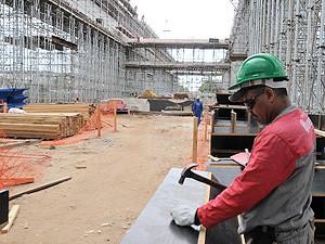 Linhares oferece vagas no setor da construção civil (Foto: Romero Mendonça/ Secom-ES)