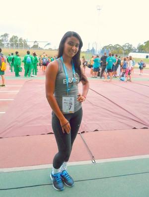 Lídia Lorena acredita que tem chances de participar das próximas duas Olimpíadas (Foto: Lídia Lorena/Acervo Pessoal)