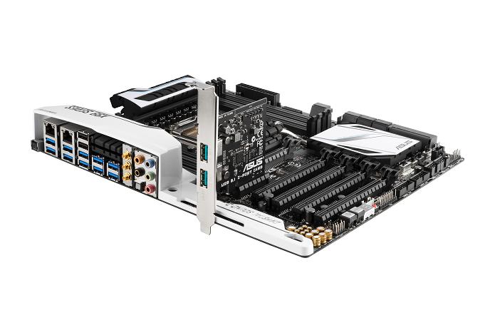 Asus revelou novas placas com USB 3.1 (Foto: Divulgação) (Foto: Asus revelou novas placas com USB 3.1 (Foto: Divulgação))