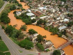 Rio Muriaé 2007 (Foto: Cláudio Cordeiro/Arquivo Pessoal)