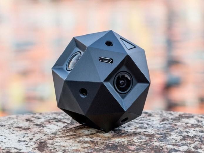 Sphericam 2 filma em 360º com resolução 4K (Foto: Divulgação/Kickstarter)