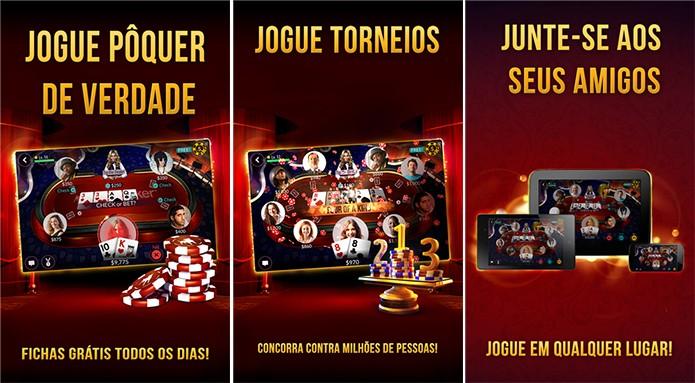 Zynga Poker é um jogo de cartas onde usuário pode desafiar amigos (Foto: Divulgação/Windows Phone Store)