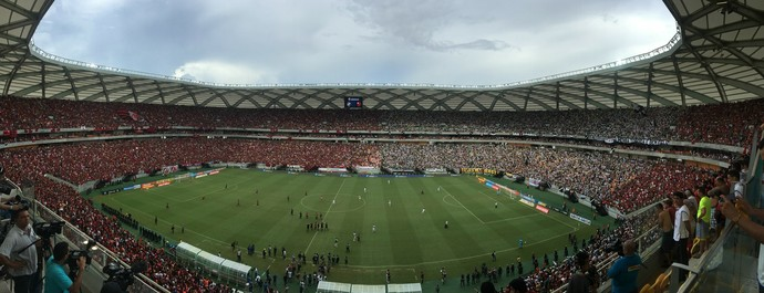 Arena da Amazônia Vasco x Flamengo (Foto: Gabriel Mansur)