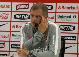 Diego Aguirre técnico do Inter Internacional (Foto: Eduardo Moura/GloboEsporte.com)