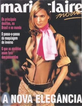 Fabiana Saba na capa da revista Marie Claire (Foto: Reprodução/Marie Claire)