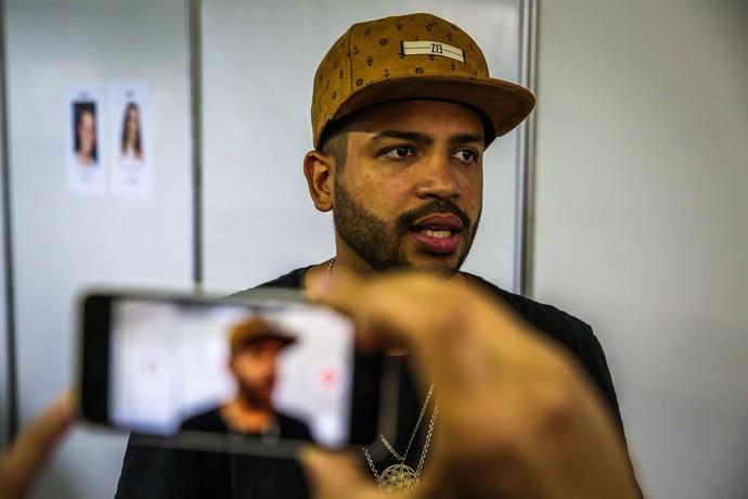 Para Projota rap não pode perder papel social (Foto: Marcos Nagelstein / Agência Preview )