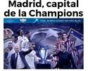 Madri passa a ser a cidade mais representada em finais da Champions