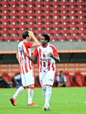 Náutico x Sport - Elicarlos (Foto: Aldo Carneiro/Pernambuco Press)