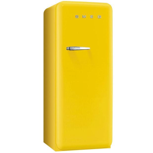Isabella Giobbi: inspirações para adotar o amarelo da moda ao décor (Foto: Divulgação/Smeg)