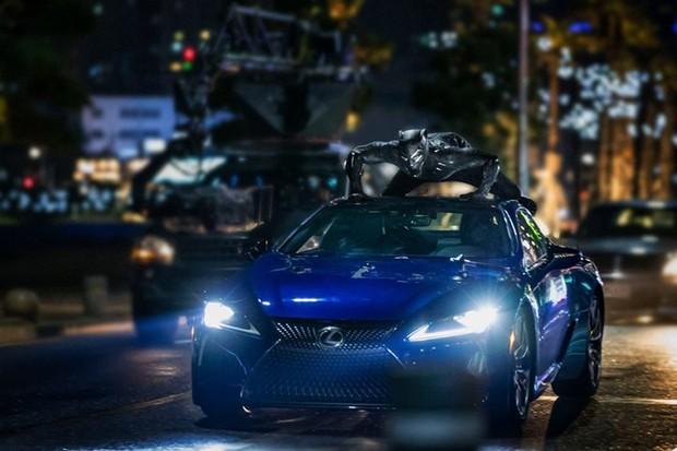 Lexus Pantera Negra (Foto: Divulgação)