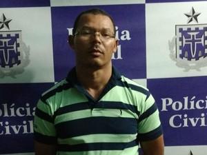 Suspeito de tráfico é preso por armar morte de 'sócio' por roça de maconha na Bahia (Foto: Divulgação/Polícia Civil)