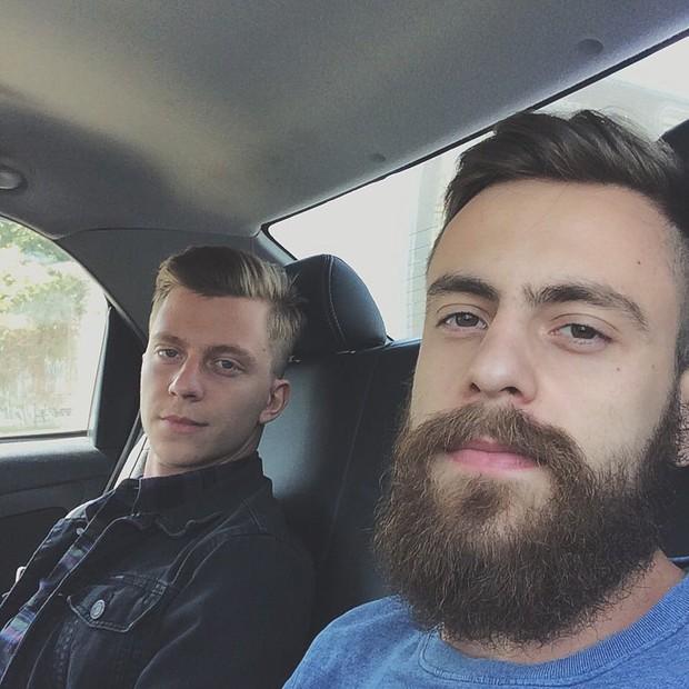 Gustavo Bertoni e Tomás Bertoni (Foto: Reprodução/Instagram)