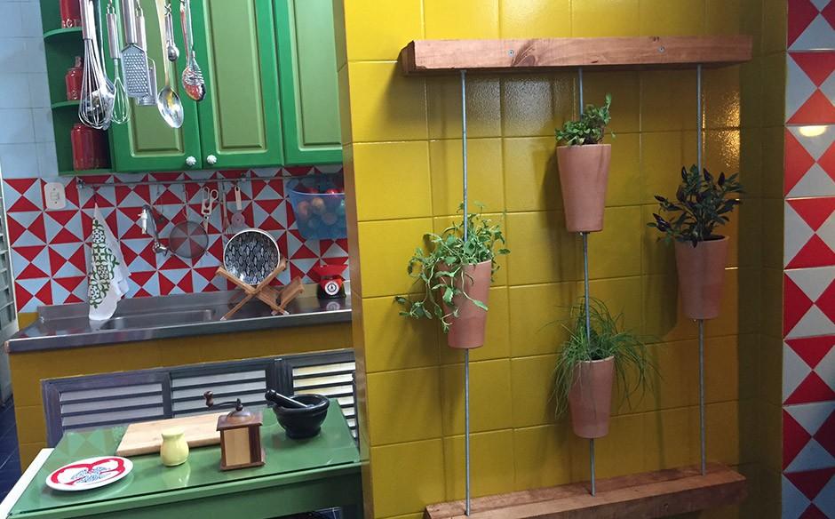 os clicks das apresentadoras do episódio 'A cozinha da chef Raquel