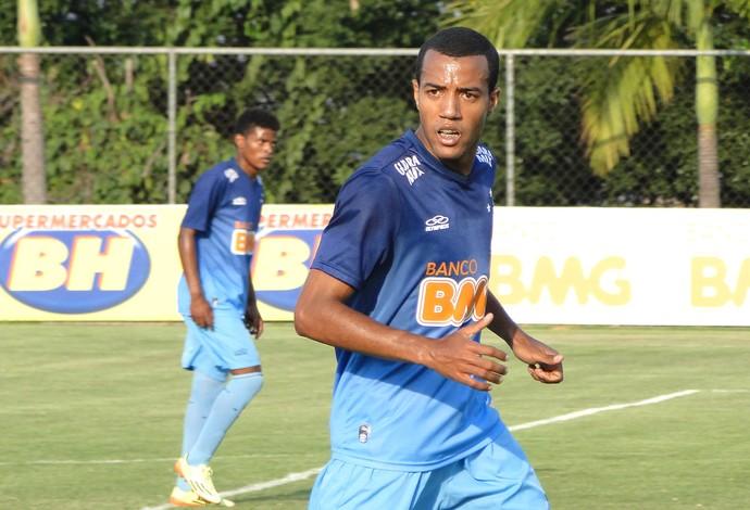 Breno Lopes, treino Cruzeiro (Foto: Tarcísio Badaró )