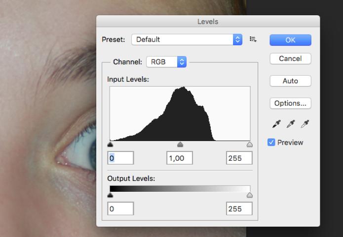 Abra a caixa de Levels no Photoshop (Foto: Reprodução/André Sugai)