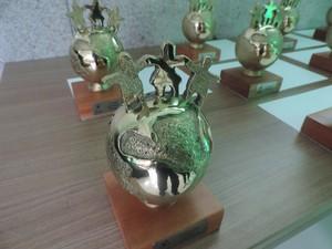 Prêmio Atitude Sustentável foi entregue nesta quarta-feira (16) (Foto: Ismael Inoch/ Rede Gazeta)