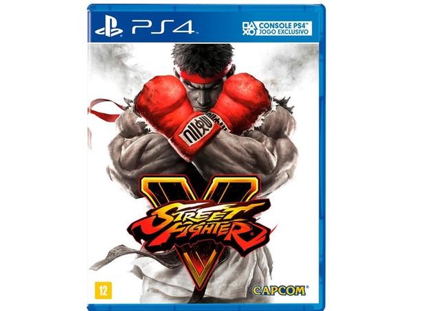 Street Fighter V - PS4, WB Games, R$ 149,90 (Foto: Divulgação)