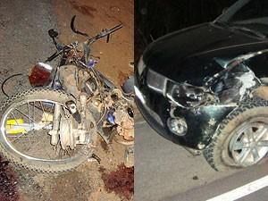 Acidente mata mulher e adolescente na BR-135 na BA (Foto: Divulgação/ PRF-BA)