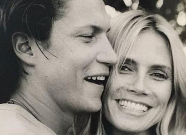 Vito Schnabel e Heidi Klum (Foto: Reprodução)