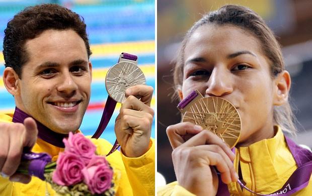 campanha premio brasil olimpico 1 (Foto: Montagem sobre foto da AGIF)