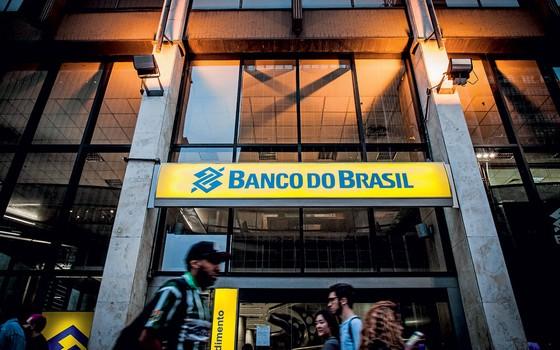 Fachada de agência do Banco do Brasil (Foto:   Bruno Santos/Folhapress)