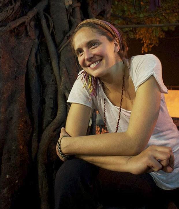 Manuela Picq em foto publicada em 2012 no Facebook (Foto: Reprodução/Facebook/Manuela Picq)