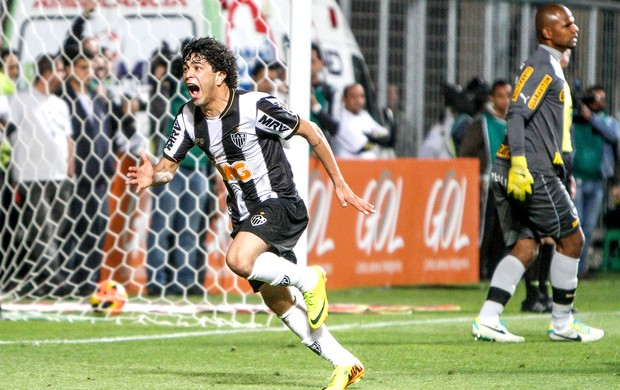 Luan gol Atlético-MG contra Botafogo (Foto: Bruno Cantini / Site Oficial do Atlético-MG)