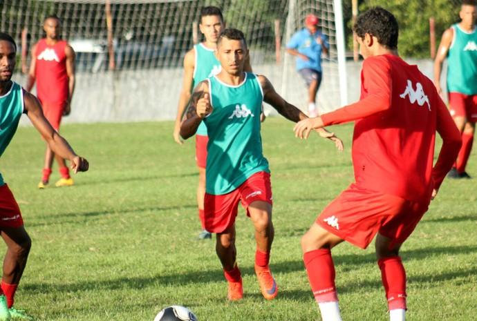 América-RN - Thiago Potiguar, atacante (Foto: Canindé Pereira/Divulgação)