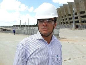 Severino Braga, engenheiro do Mineirão (Foto: Léo Simonini / Globoesporte.com)