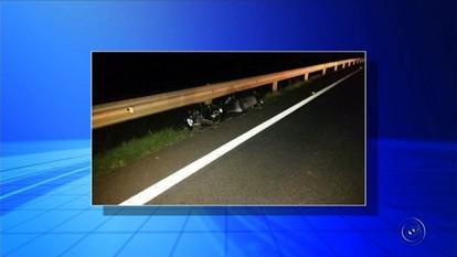 Policial militar morre após sofrer acidente na rodovia Washington Luís