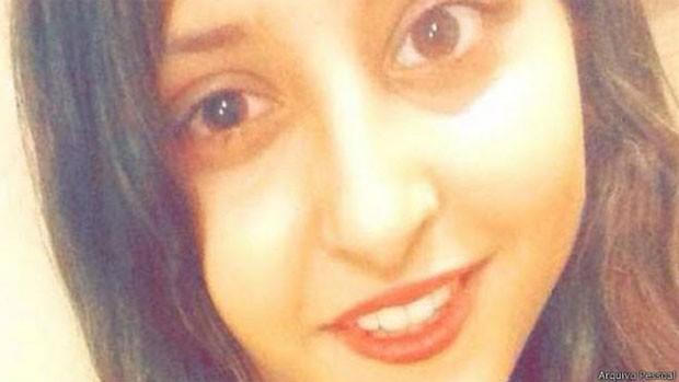 Jessica Greaney precisou passar por tratamento intensivo e pingava colírio no olho a cada 30 minutos (Foto: Arquivo Pessoal)