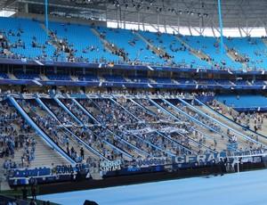 Arena do Grêmio na inauguração (Foto: Hector Werlang/GLOBOESPORTE.COM)