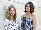 Ex-Malhação Hanna Romanazzi e estreante são Kitty e Samantha jovens: 'Frio na barriga'