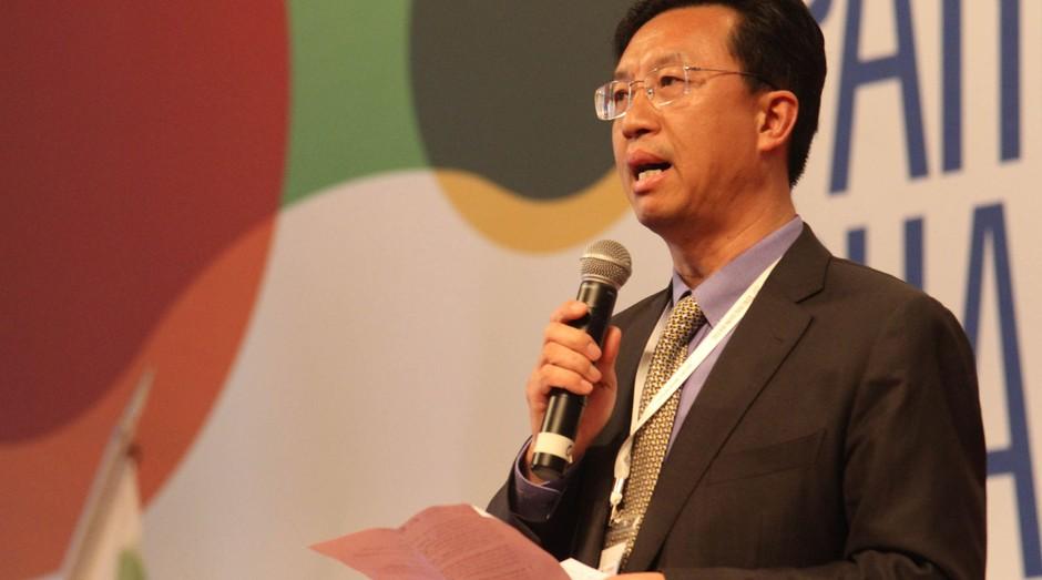 "Herbert Chen: ""Quero trocar o Made in China por o Create in China"" (Foto: Reprodução)"