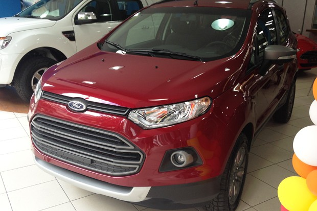 Ford EcoSport tem taxa zero nas lojas (Foto: Autoesporte)