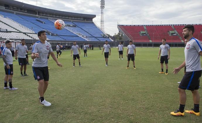 Corinthians treino Paraguai (Foto: Daniel Augusto Jr. / Agência Corinthians)