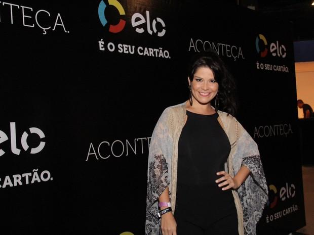 Samara Felippo em show na Zona Oeste do Rio (Foto: Wallace Barbosa/ Ag. News)