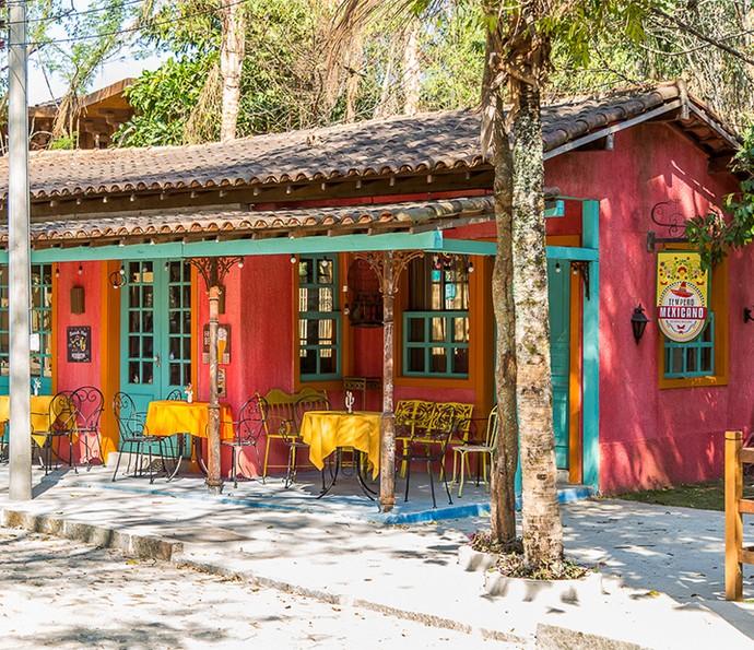 O restaurante mexicano traz também uma variedade de cores (Foto: Artur Meninea)