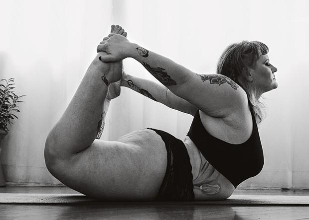 Vanessa Joda: anfetamina nunca mais. Agora, só ioga (Foto: Felipe Mariano)