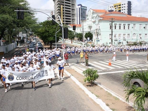 """""""Corrida da Paz"""" ocorrerá neste domingo (1) em Natal (Foto: Reprodução/Marinha do Brasil)"""