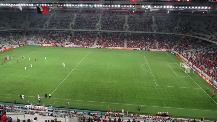 Arena da Baixada Atlético-PR América-MG (Foto: Fernando Freire)