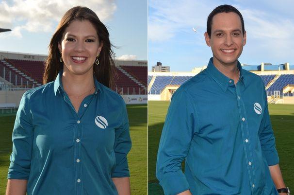 Tâmara Oliveira e Gustavo Costa ficarão responsáveis pelas reportagens (Foto: Divulgação / TV Sergipe)