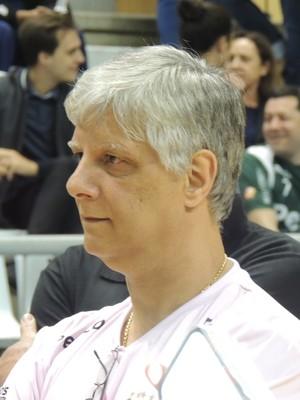 Kleber Rangel supervisor Jaraguá Futsal (Foto: João Lucas Cardoso)