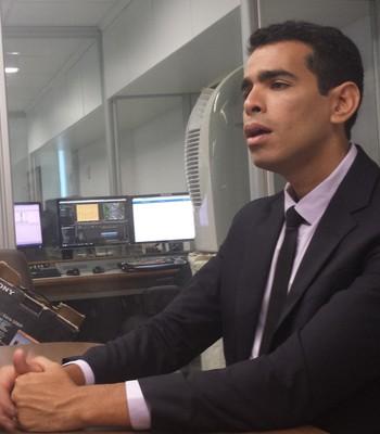 Marcelo Sant'Ana presidente do Bahia (Foto: Thiago Pereira)