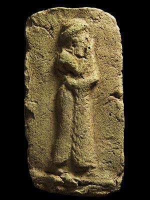 Obra descoberta por arqueólogos britânicos no Iraque (Foto: AP Photo/Stuart Campbell)